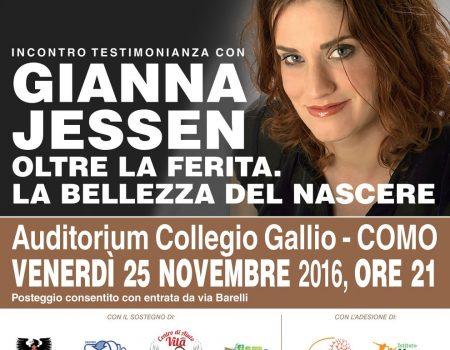 Incontro-testimonianza con Gianna Jessen