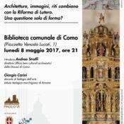 Locandina incontro Liturgia-arte 08-05-2017