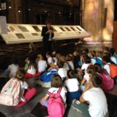 Visita guidata bambini mostra Pane e Vino 08-09-2015