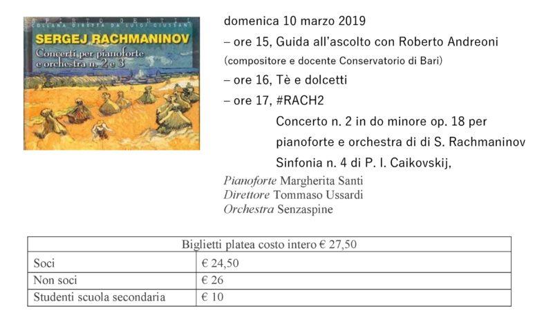 Volantino concerto Rach2 10-03-2019