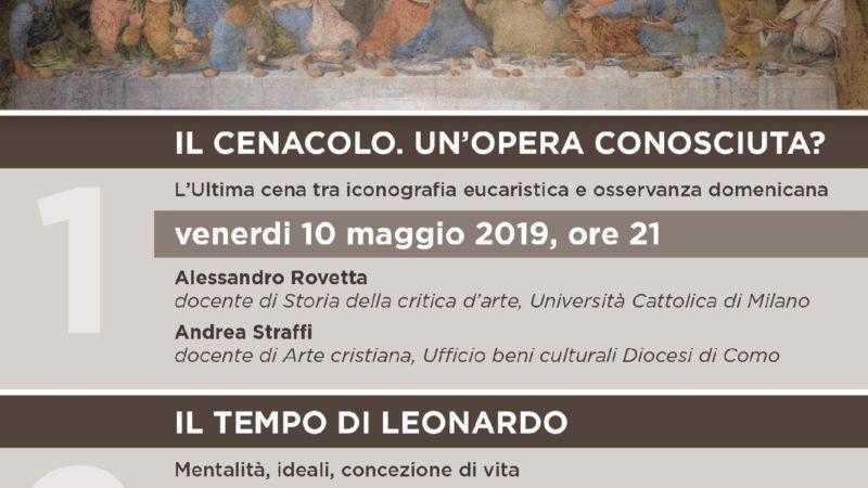 Locandina incontri Leonardo 2019