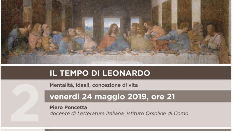 Locandina incontro Tempo Leonardo 24-02-2019