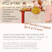 Locandina Leonardo bambini 23-11-2019