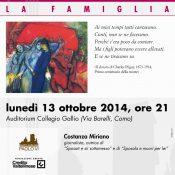 Locandina incontro C. Miriano Famiglia 13-10-2014