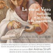 Locandina incontro Raffaello 19-10-2020 ore 18.30