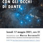 Locandina incontro Bersanelli Dante 17-05-2021